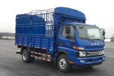江淮牌HFC5046CCYP91K2C9V-S型仓栅式运输车
