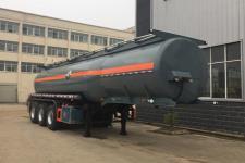 程力威牌CLW9408GFWB型腐蚀性物品罐式运输半挂车图片
