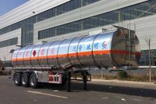 河海明珠牌MZC9406GRY型易燃液体罐式运输半挂车图片