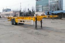 勇超牌YXY9353TJZE型集装箱运输半挂车图片