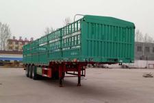 鲁际通牌 13米仓栅式运输半挂车 三轴 LSJ9401CCY型