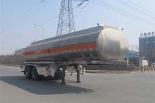陆平机器牌LPC9291GYYS型铝合金运油半挂车图片