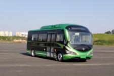 广通牌GTQ6681BEVB8型纯电动城市客车图片