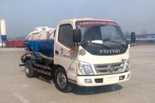 梁�x牌TYK5040GXW型吸污车图片