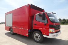 川消牌SXF5090TXFXC13型宣传消防车图片