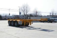 锣响牌LXC9403TJZ型集装箱运输半挂车图片