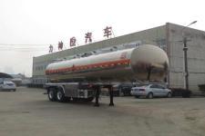 醒狮牌SLS9359GYY型铝合金运油半挂车
