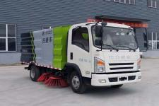 程力威牌CLW5070TSLCL5型扫路车