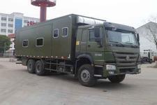 中汽力威牌HLW5250TSY5ZZ型宿营车