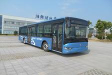 亚星牌JS6128GHEVC18型插电式混合动力城市客车图片