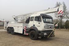 华美牌LHM5251TCS型测试井架车图片