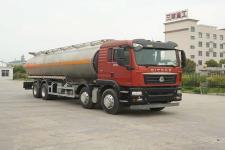 华威驰乐牌SGZ5320GRYZZ5C5型铝合金易燃液体罐式运输车图片