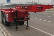 龙亿达牌CYL9400TJZDE型集装箱运输半挂车图片