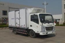 欧铃牌ZB5040XLCBEVKDC6型纯电动冷藏车图片