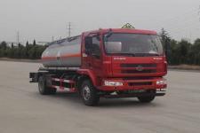 大力牌DLQ5180GFWLZ5型腐蚀性物品罐式运输车