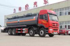 醒狮牌SLS5315GFWC4Q型腐蚀性物品罐式运输车