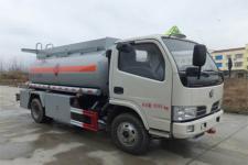 楚风牌HQG5081GRYGD5型易燃液体罐式运输车