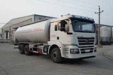 银盾牌JYC5250GFLSX2型低密度粉粒物料运输车图片