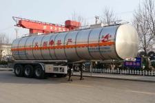 昌骅牌HCH9400GRY35型铝合金易燃液体罐式运输半挂车图片