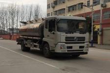 程力威牌CLW5180GYYD5型铝合金运油车