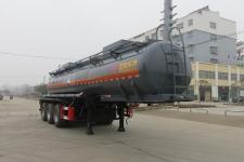 特运牌DTA9408GFWD型腐蚀性物品罐式运输半挂车