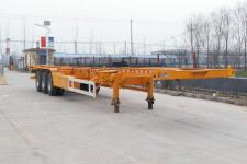 梁威牌SLH9403TJZE型集装箱运输半挂车图片
