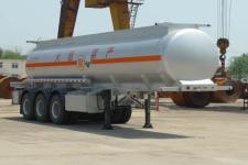 双达牌ZLQ9401GFW型腐蚀性物品罐式运输半挂车