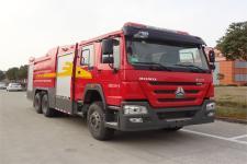 金盛盾牌JDX5270GXFPM120/H5型泡沫消防车