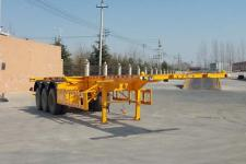 瀚驰龙牌MCL9404TJZ型集装箱运输半挂车图片