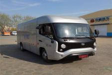 中通牌LCK5045XXYEV6W型纯电动厢式运输车图片