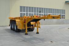 金碧牌PJQ9400TWY型危险品罐箱骨架运输半挂车图片