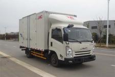 江铃牌JX5042XXYXGC2型厢式运输车图片
