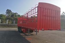中集牌ZJV9406CCYSZ型仓栅式运输半挂车
