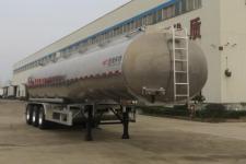 特运牌DTA9403GSY型铝合金食用油运输半挂车