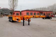 儒源牌ZDY9401TJZE型集装箱运输半挂车图片