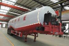 承威牌GCW9400GFL型低密度粉粒物料运输半挂车图片