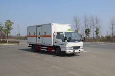 江特牌JDF5040XFWJ5型腐蚀性物品厢式运输车