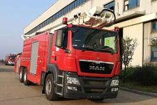 中联牌ZLF5321JXFJP32型举高喷射消防车图片