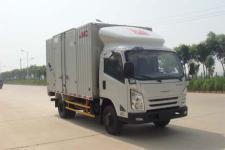 江铃牌JX5047XXYXGF2型厢式运输车图片