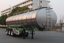 开乐牌AKL9407GYS型铝合金液态食品运输半挂车图片