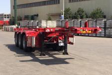 大运牌CGC9400TWY342型危险品罐箱骨架运输半挂车图片