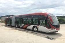 广通客车牌SQ6186BEVBT6型纯电动铰接城市客车