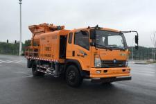 王牌牌CDW5140THBA2R5型车载式混凝土泵车