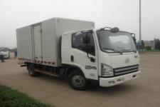 一汽解放轻卡国四单桥厢式运输车124马力5吨以下(CA5041XXYP40K2L1E4A85-3)