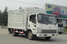 一汽解放轻卡国四单桥仓栅式运输车124马力5吨以下(CA5043CCYP40K2L1E4A84-1)