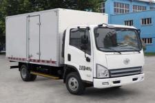 一汽解放轻卡国四单桥厢式运输车124马力5吨以下(CA5043XXYP40K2L1E4A84-3)