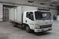 一汽解放轻卡国四单桥厢式运输车95马力5吨以下(CA5047XXYP40K50L1E4A85-3)