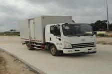 一汽解放轻卡国四单桥厢式运输车140马力5-10吨(CA5145XXYP40K2L2E4A85-3)