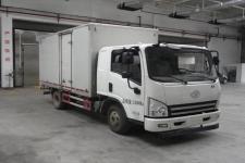 一汽解放轻卡国四单桥厢式运输车140马力5-10吨(CA5145XXYP40K2L5E4A85-3)