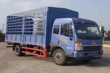 青岛解放国四单桥仓栅式运输车189马力5-10吨(CA5167CCYPK2L2E4A80-1)